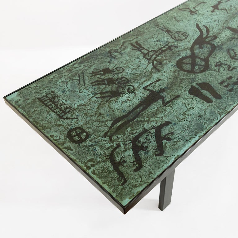 Algot P. Tõrneman, David Rosén Designed Triva Dura Coffee Table by NK Stockholm In Good Condition For Sale In New York, NY