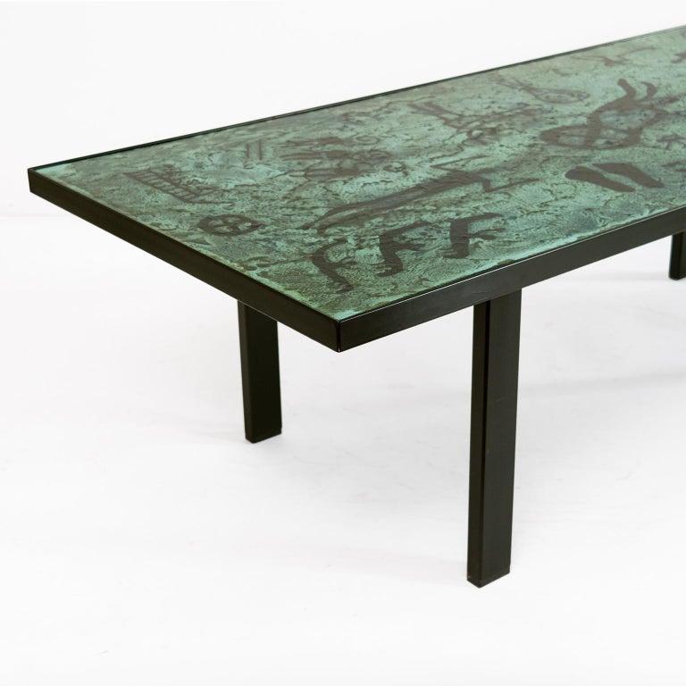 Algot P. Tõrneman, David Rosén Designed Triva Dura Coffee Table by NK Stockholm For Sale 1