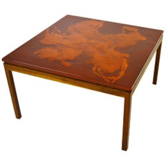 Algot P Törneman Enamel Table for NK Sweden