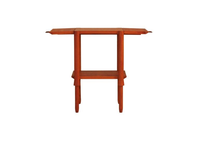 Contemporary Alì Coffee Table, Made of Cherry Wood, Design Ugo La Pietra For Sale