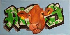 """""""Agelada"""", Oil Painting"""