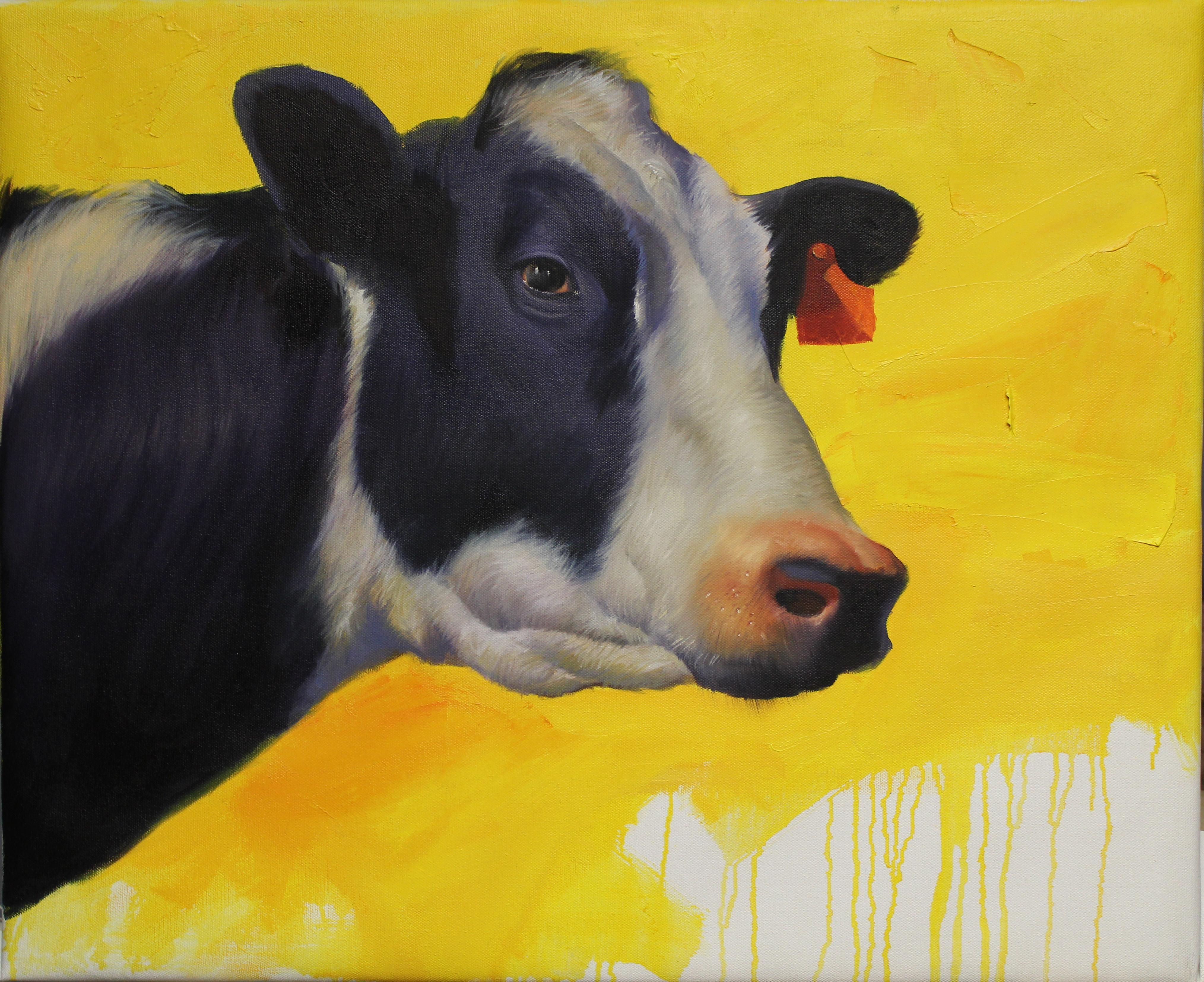 """""""Mucca"""", Oil Painting"""