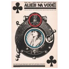 Alibi on the Lake 1965 Czech A3 Film Poster