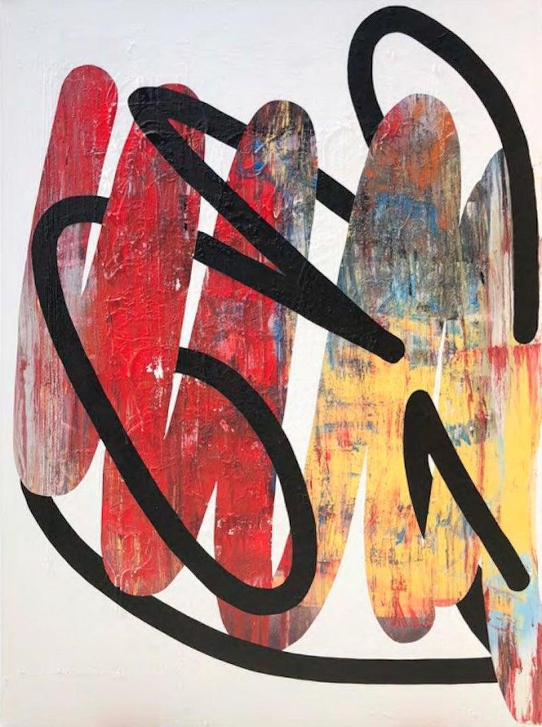 No More Knots #2 - Mixed Media Art by Alic Daniel