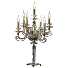 Alicante Clear Candelabra Seven Lights