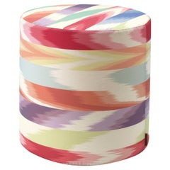 Alicante Tall Cylindrical Pouf