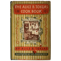 Alice B. Toklas Cookbook Printed, 1954