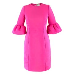 Alice by Temperley Bubblegum Pink Bell Sleeve Dress 8 UK