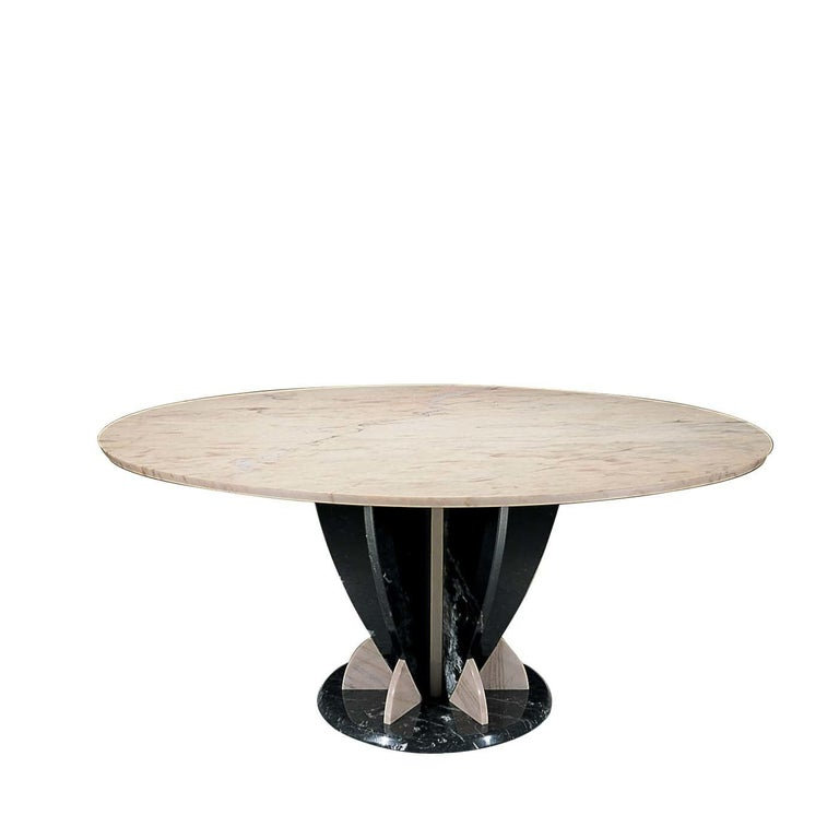 Italian Alice Dining Table by Sergio Asti For Sale