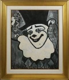 Pierrot et perroquet Figurative