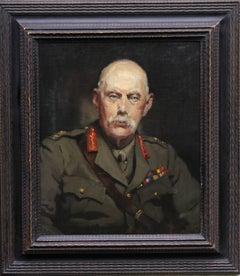Portrait of Major General Sir Bainbridge Landon - British military oil painting