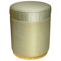 Alice Pouf with Gold Base