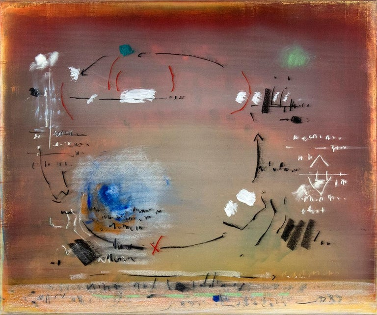 Alice Teichert Abstract Painting - Cycle