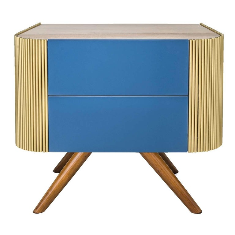 Alice Wooden Nightstand In New Condition For Sale In Milan, IT
