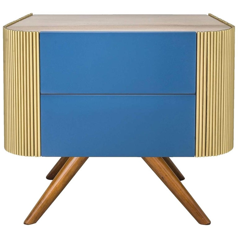 Alice Wooden Nightstand For Sale