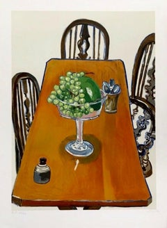 Jar from Samarkland, Limited Edition Lithograph, Alice Neel - LARGE