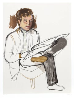 Portrait of Edward Avedesian, by Alice Neel 1981