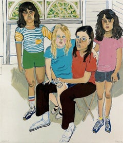 The Family, Limited Edition Lithograph, Alice Neel
