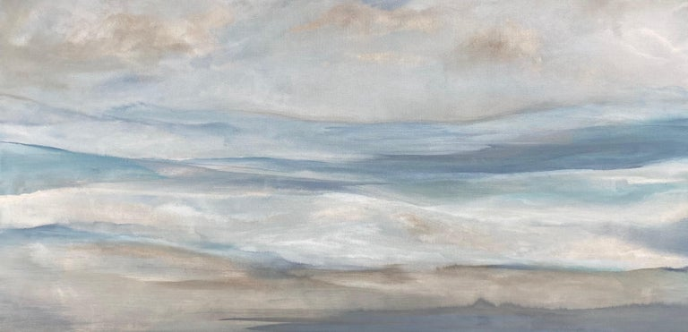 """<p>Artist Comments<br />""""As summer gives way to fall, I revel in nature's new light,"""" says artist Alicia Dunn. """"This painting captures the seasonal transition with its undulating strokes of deep, rich color."""" Part of Alicia's signature series of"""
