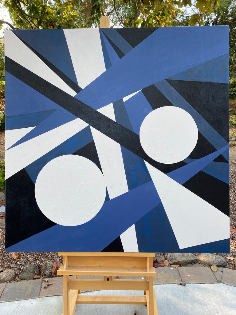 Dynamic Interaction II, Abstract Painting For Sale 2