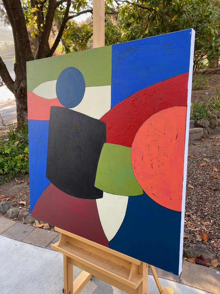 Ensemble, Abstract Painting For Sale 1