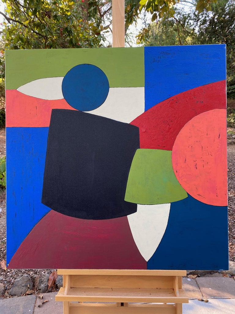Ensemble, Abstract Painting For Sale 2