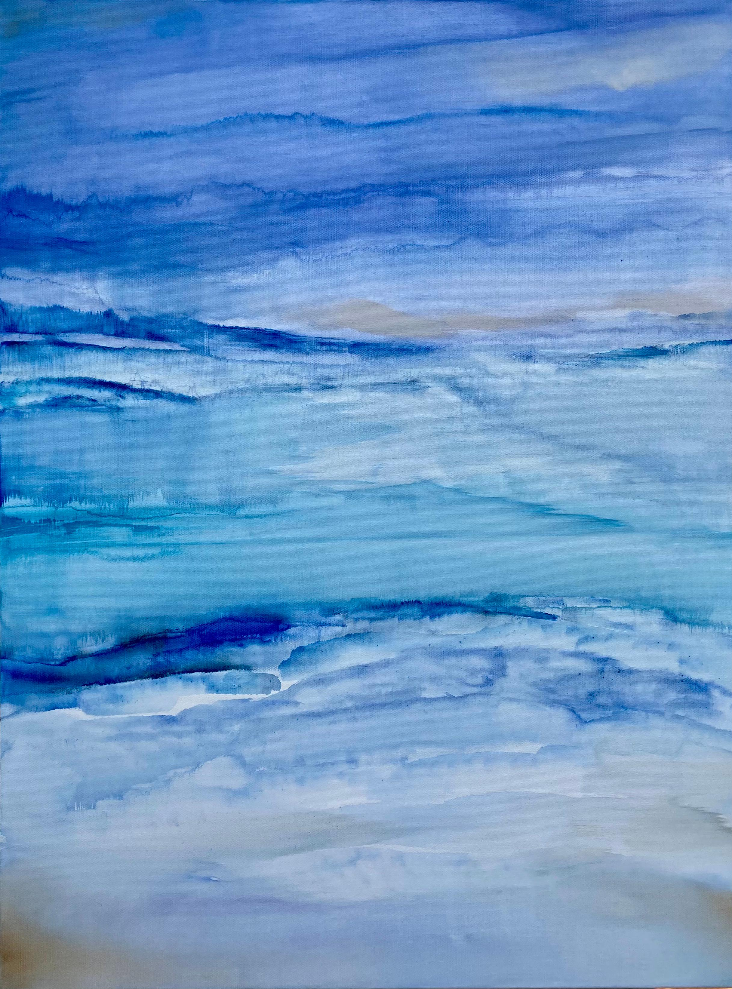 Ethereal Mist, Abstract Painting