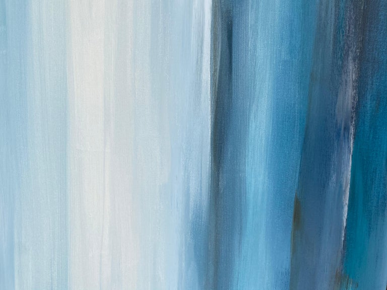 In Blue Dreams, Abstract Painting For Sale 3