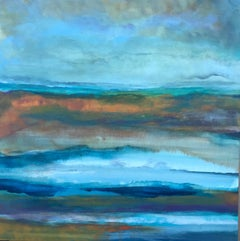 October Coast, Abstract Painting
