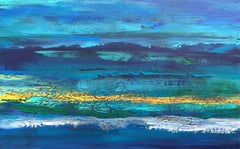 Out of the Blue, Abstract Painting