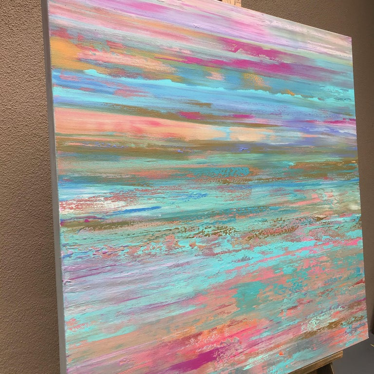 Vibrant Imagination, Abstract Painting 1