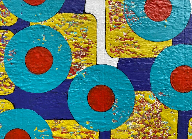 Yellow Submarine, Abstract Painting For Sale 3