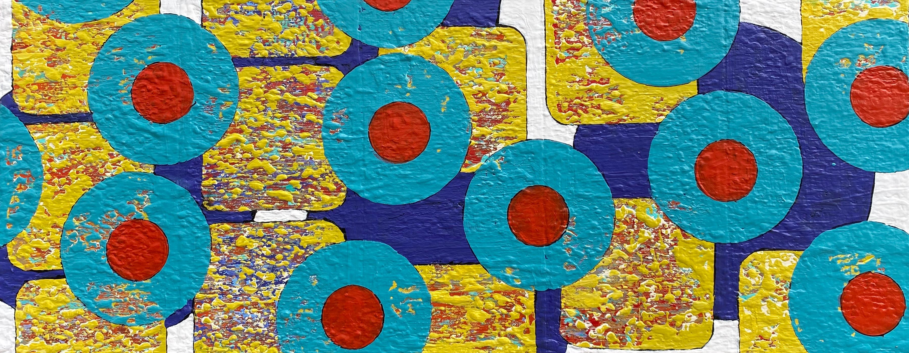Yellow Submarine, Abstract Painting