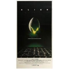 Alien 1979 US 3 Sheet Film Movie Poster