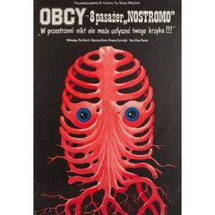 Alien Polish Film Poster, Jakub Erol, 1980