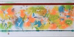 Monkeys, from: Nature, An Obtuse Matter - Multicolour Screenprint