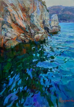 Turung - Landscape Colors Blue Green White Brown Purple Yellow