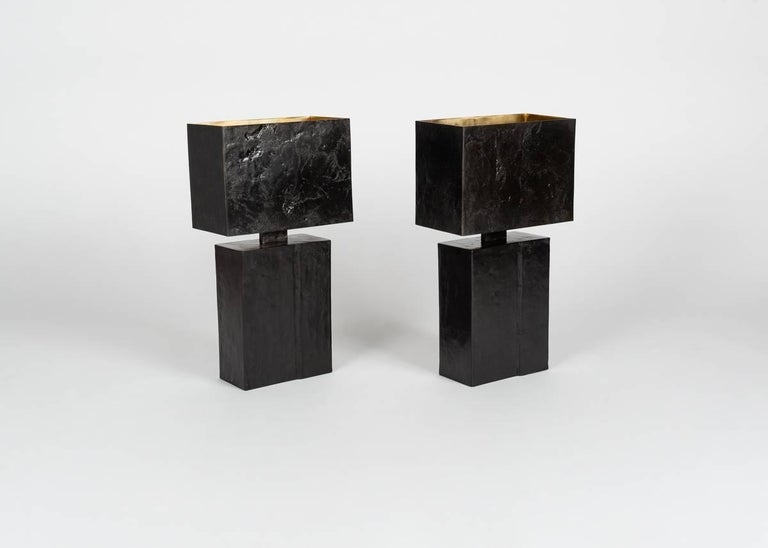 Patinated Aline Hazarian,