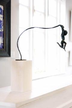 Marauder BY ALISON BELL, Bronze Sculptures, Figurative Art, Premium Art