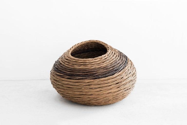 "Willow Alison Dickens Tideline """"windlown basket"""", Contemporary Crafts Basket, 2020"