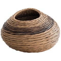 "Alison Dickens Tideline """"windlown basket"""", Contemporary Crafts Basket, 2020"