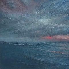 Alison Groom, Maldives Storm, Contemporary Art, Affordable Art, Seascape Art