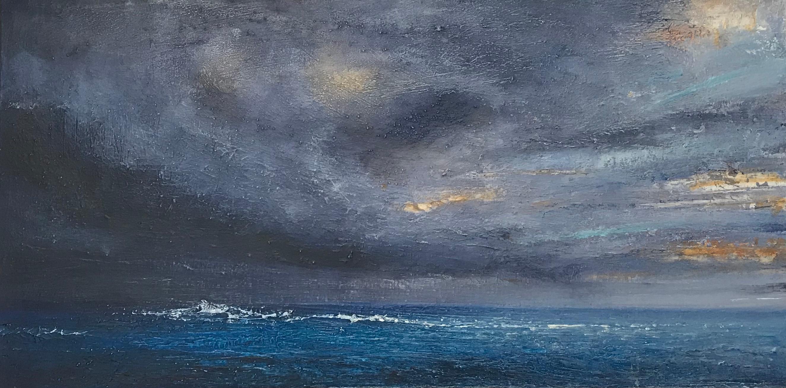 Alison Groom, Tropical Storm, Original Painting, Contemporary Art, Art Online