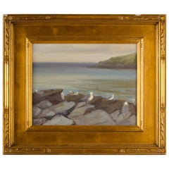Alison Hill 'American, Late 20th Century' Seagulls on the Rocks