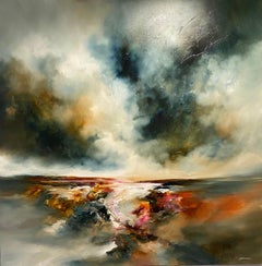 Alison Johnson, Dramatic Seascape, Contemporary Art, Affordable Art.