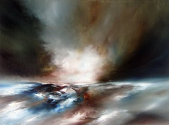Drift Expanse, Alison Johnson, Bright Art, Contemporary Landscape, Dramatic Art
