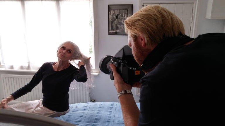 Daphne Selfe Black and White photography Limited edition of 10 Signed - Photograph by Alistair Guy