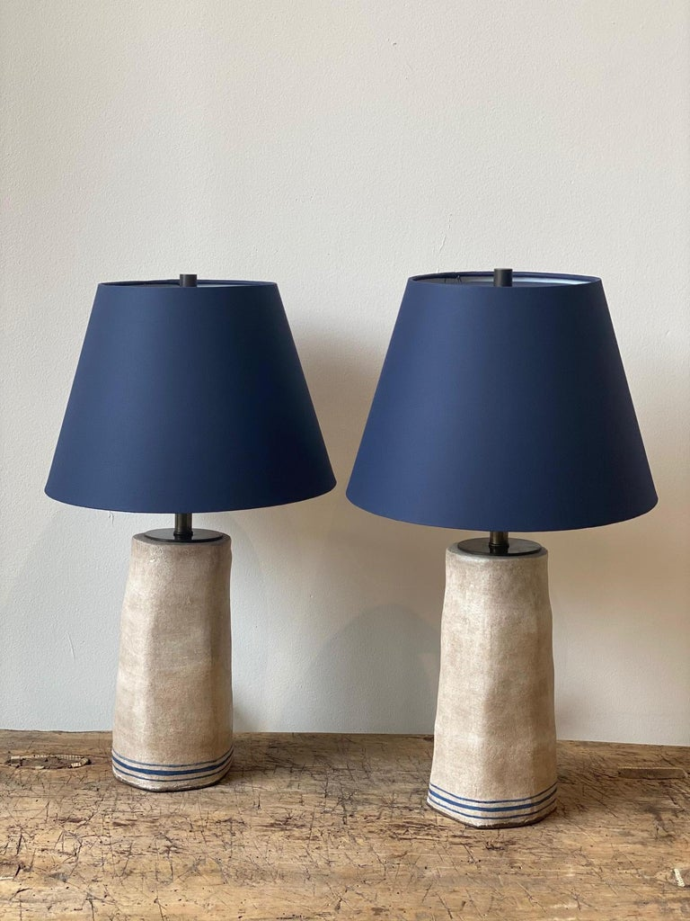 Alix Soubiran Palo Table Lamps In New Condition For Sale In Los Angeles, CA