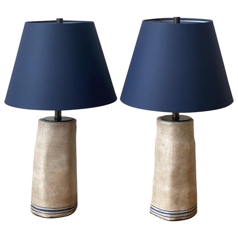 Alix Soubiran Palo Table Lamps For Sale