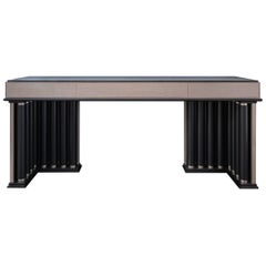 Alkes Modern Console Table with Art-Deco Vibes
